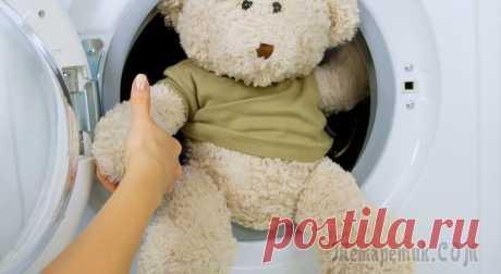 Как правильно стирать и чистить мягкие игрушки