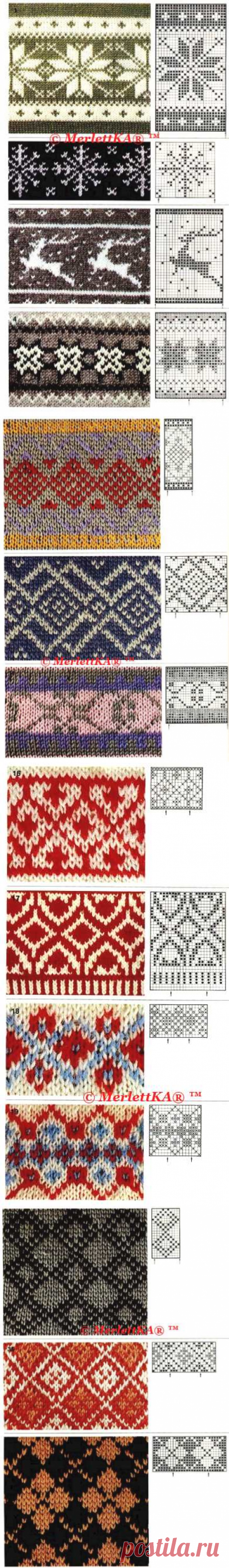 Jacquard is not much - for beads, knitting, weaving and a dot list