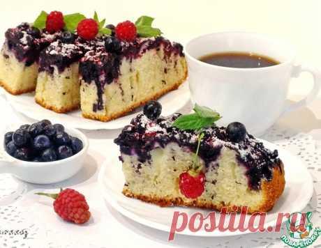 Черничный торт – кулинарный рецепт