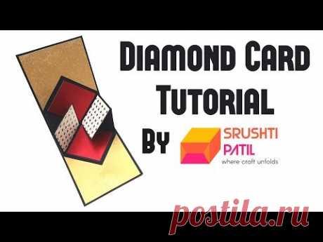 Diamond Card Tutorial by Srushti Patil