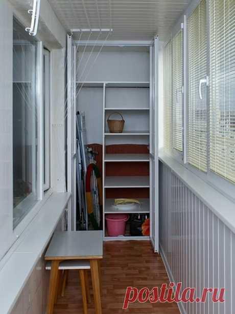 25 крутых идей для маленьких балконов и узких лоджий, которые стоит