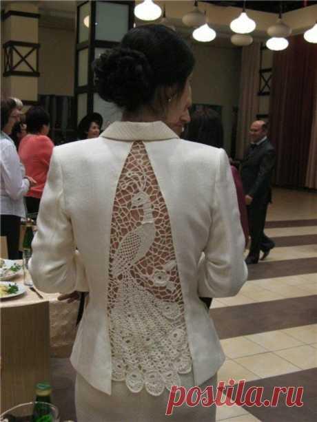 Кружевные вставки Модная одежда и дизайн интерьера своими руками