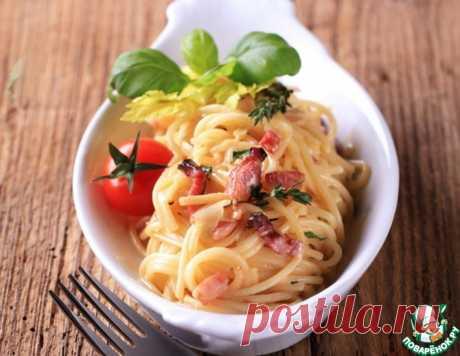 Паста Карбонара – кулинарный рецепт