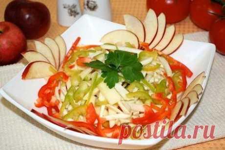 Салаты - рецепты с  на Вкусляндии: дешевые салаты на скорую руку, салаты новинки, рецепты салатов на день рождения с фото пошагово
