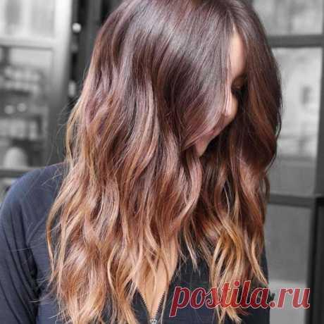 Тренды окрашивания волос 2018