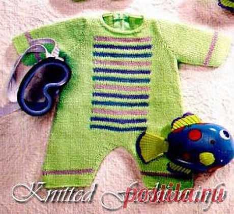 Детский комбинезон - KnittedFashion.info