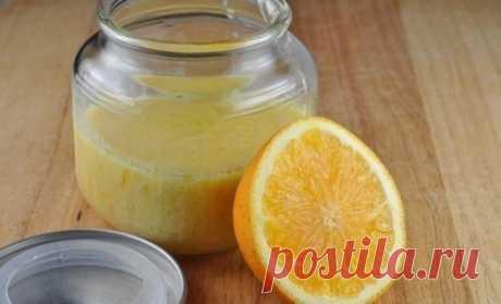 Апельсиновый скраб для тонуса кожи и тела