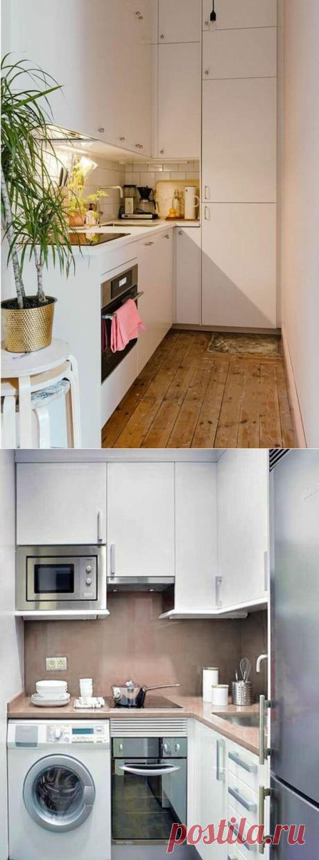 Маленькая угловая кухня. 17 особенностей планировки, оснащения и дизайна (+эл. книга)   Дизайн интерьера и обустройство   Яндекс Дзен