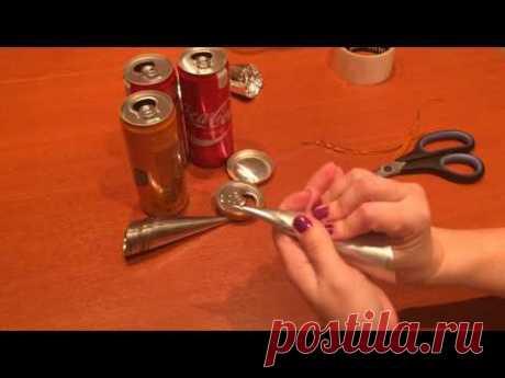 Как сделать формочки для трубочек.