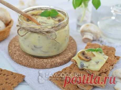 Домашний плавленный сыр с грибами — рецепт с фото