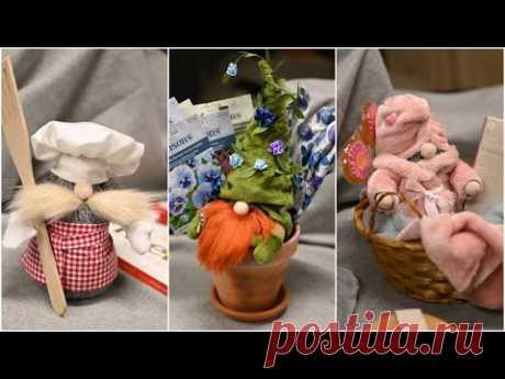 Идеи подарков к 8 марта! / Скандинавские гномы к женскому празднику