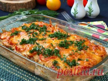 Картошка с фаршем и помидорами в духовке — рецепт с фото Очень вкусное и сытное блюдо на каждый день. Картофельная запеканка с мясным фаршем и помидорами подойдёт для семейного обеда или ужина.