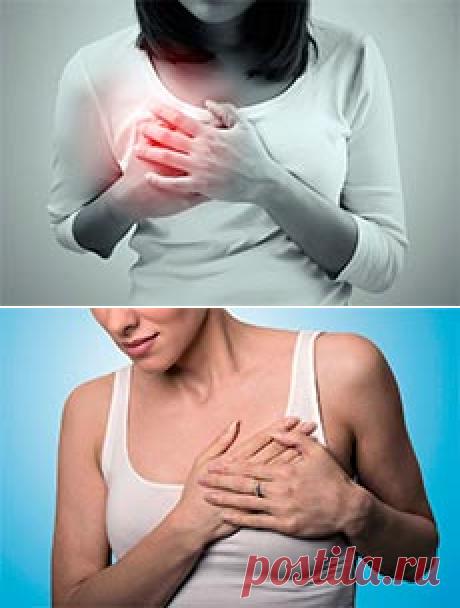 Боль в молочной железе: причины, разновидности болей, лечение