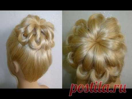 Einfache Frisuren:Hochsteckfrisur.Flechtfrisuren.Zopffrisur.Donut Hair Bun Updo... — Яндекс.Видео