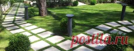 Пластиковая плитка для садовых дорожек: какую плитку лучше положить в саду