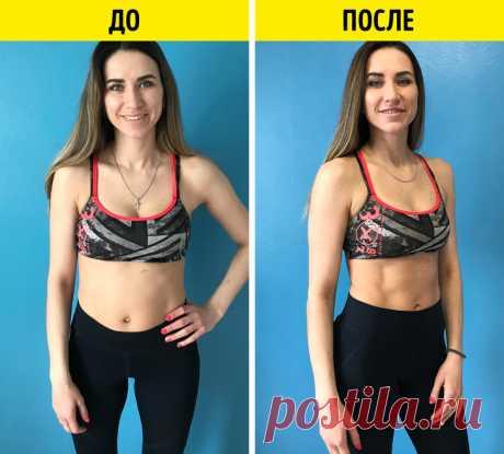 Я 2 недели выполняла гимнастику Шварценеггера и круто изменила свое тело