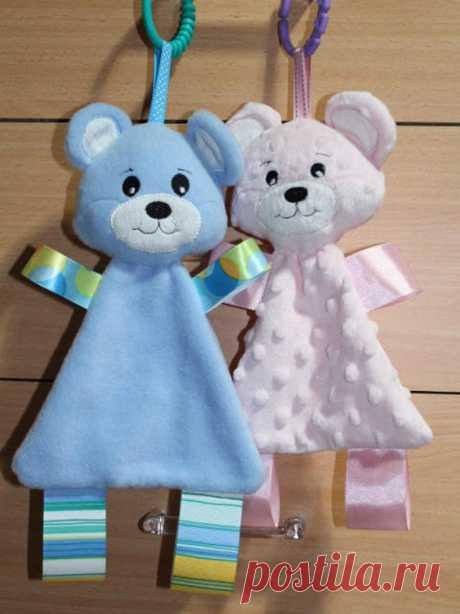 Mehko plišasti medved Hugme Otroške igrače Strojno vezenje | Etsy
