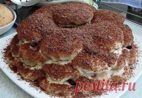 Как приготовить торт черепаха - рецепт, ингредиенты и фотографии