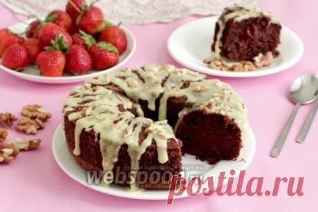 Шоколадно-ореховый кекс без муки рецепт с фото, как приготовить на Webspoon.ru