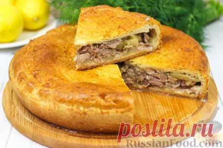 Мясной пирог - 30 лучших рецептов приготовления
