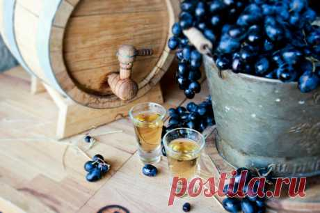 Виноградный самогон. Между коньяком и чачей | Домашний Алкоголь | Яндекс Дзен