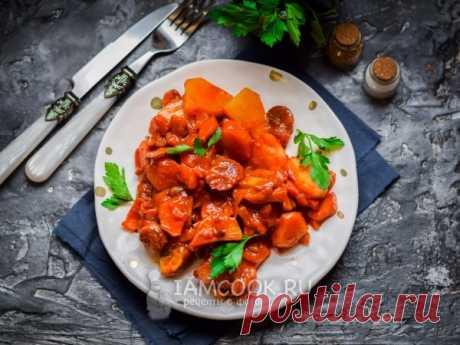Тушеная картошка с грибами в томате. Тушеная картошка с грибами в томате получится просто бесподобной, подойдет в качестве обеда или ужина для всех членов семьи!