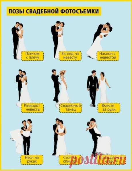Лучшие позы для фотосъемки пар