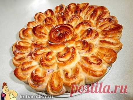 Красивый пирог РОЗА