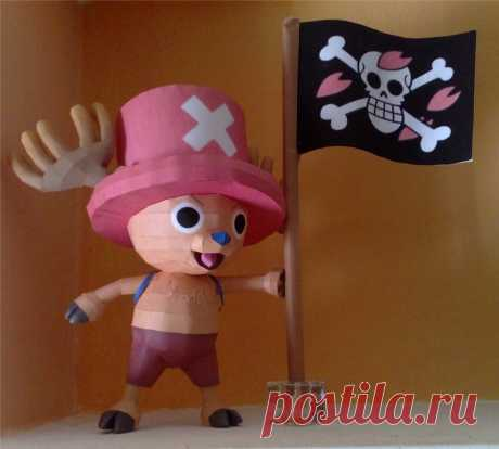 Chopper papercraft Chopper papercraft. Designed and built by me. This is the download