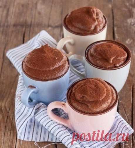 Как приготовить шоколадный мусс - рецепт, ингридиенты и фотографии