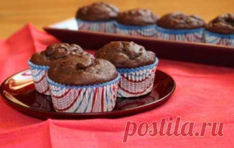Бананово-шоколадные маффины / Кексы / TVCook: пошаговые рецепты с фото