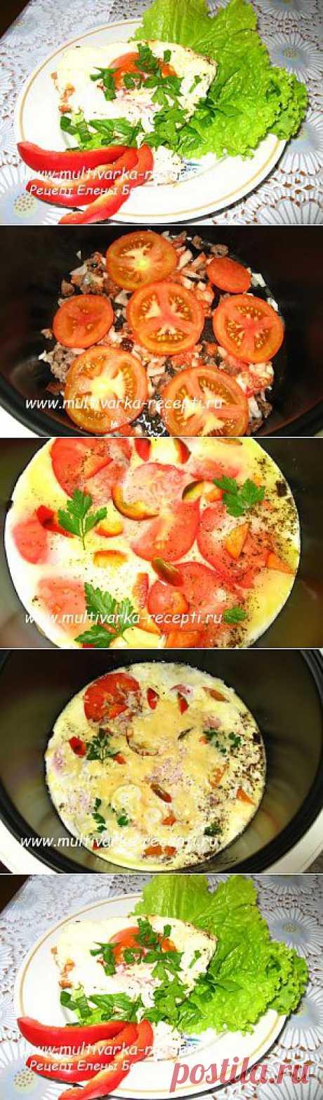 Яичница с помидорами в мультиварке |