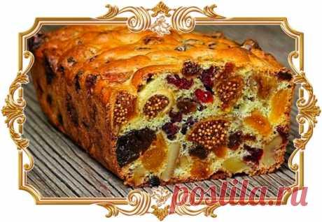 Самый полезный кекс из сухофруктов: готовится быстро, а получается вкусно!  Это именно кекс из сухофруктов, а не кекс с сухофруктами. В нем очень много сушеных ягод и очень мало теста. Кекс получается насыщенным, ярким, вкусным и полезным. А главное — готовится он быстро и легко.  Ингредиенты: Показать полностью…