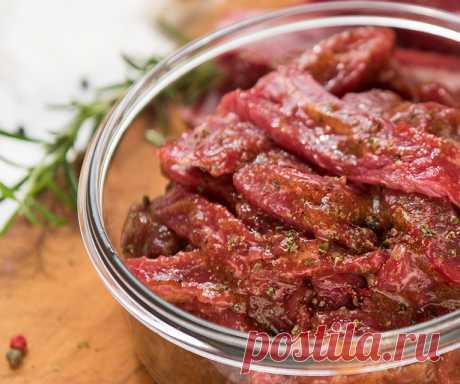 Маринад для говядины для духовки и для запекания