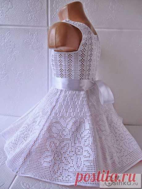 Платье филейка.