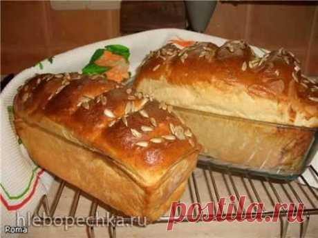 Пшенично-картофельный формовой хлеб (духовка) - Хлебопечка.ру