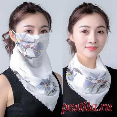 Выкройки маски-шарфа Модная одежда и дизайн интерьера своими руками