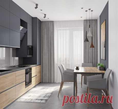 El diseño del interior de la cocina