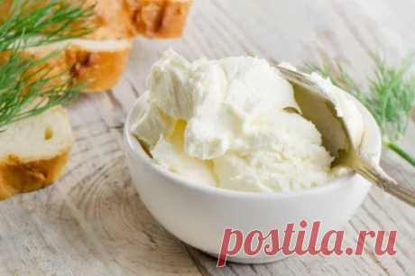 """Сыр """"Филадельфия"""" в домашних условиях  #рецепт"""