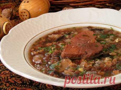 Воспиапур - армянский суп из чечевицы - БУДЕТ ВКУСНО! - медиаплатформа МирТесен Воспиапур - это армянский суп из чечевицы с говядиной, черносливом и грецкими орехами. Очень вкусный, густой, наваристый, сытный, ароматный и с насыщенным вкусом супчик! Где-то читала, что в Армении такой суп готовят на Пасху (Затик). В некоторых регионах Армении в суп еще добавляют рис и изюм. Так