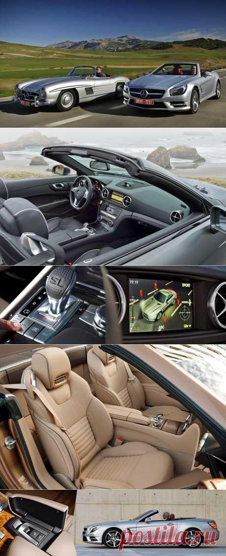 Знакомимся сродстером Mercedes-Benz SL 500 иего предками