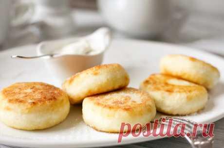 Идеальные ванильные сырники — Sloosh – кулинарные рецепты