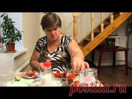 """La receta de los tomates en conserva. \""""Los gajos apetitosos\""""."""