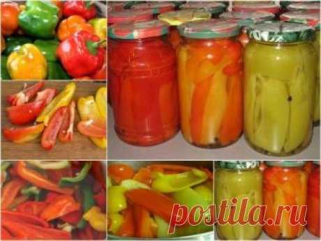Проверенный годами и поколениями рецепт маринованного болгарского перца