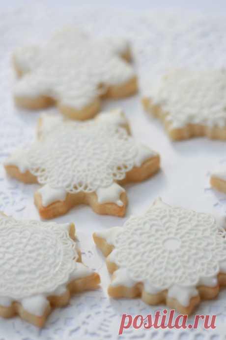 {Видео} Снежинка Печенье Учебник | Sweetopia
