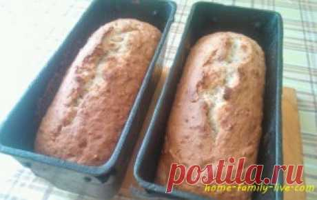 For those who likes to cook banana bread \/ Website with step-by-step recipes with a photo