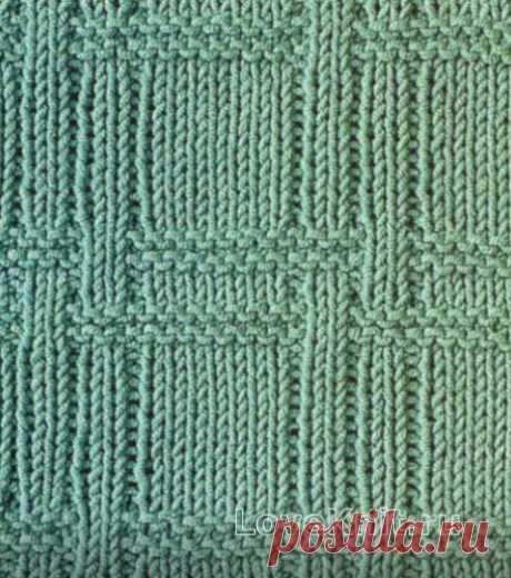 Рельефный плетеный узор №1 » Люблю Вязать