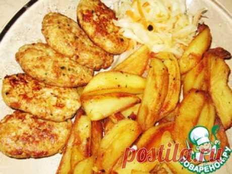 "Cutlets chicken ""Гости on пороге"" - culinary recipe"