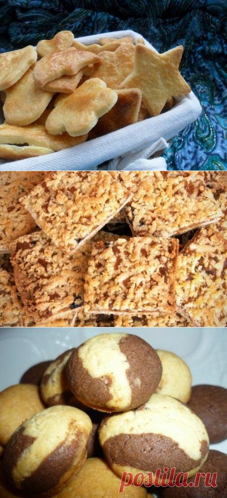 Как готовят песочное печенье в разных странах мира