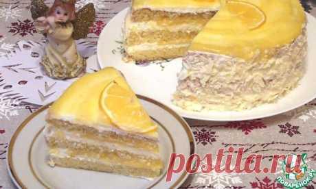 """Торт """"Лимонный"""" Кулинарный рецепт"""